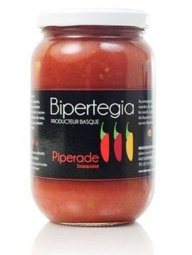 Piperade basquaise au piment d'Espelette