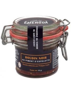 Boudin noir au piment dEspelette AOP 95g