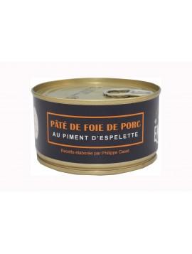 Pâté de foie de porc au piment d'Espelette