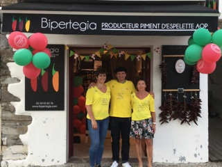 Tour de France Espelette 2018 - Boutique Bipertegia